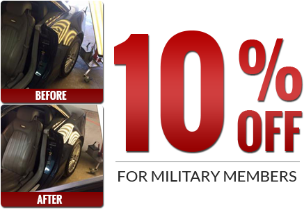 10% Off for Military Members